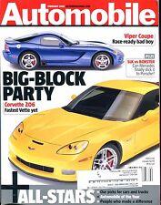 Automobile Magazine February 2005 Corvette Z06 EX w/ML 022817nonjhe