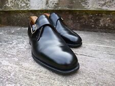 CROCKETT AND JONES MONK STRAP – BLACK - UK 6.5 – EXCELLENT CONDITION