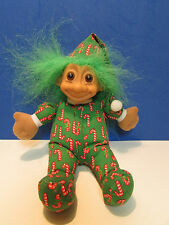 """CANDY CANE ELF - 7"""" Russ SoftTroll Doll - NEW WITHOUT HANG TAG"""