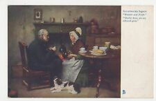 Darby & Joan, Illustrated Songs, Tuck 1152 Postcard #3, A716