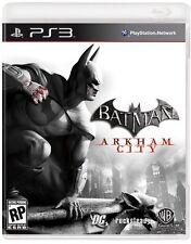 PS3 Batman Arkham City Formato Pal Excelente Estado