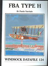 WINDSOCK  DATAFILE # 124 - FBA Type H. (Italian flying boat)  Sb