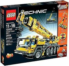 LEGO Technic Mobile Crane (8421) Very Large Kit NISB Free Shipping