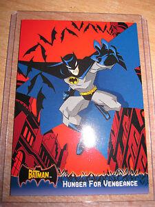 CARTE DC COMICS PROMO P2 BATMAN HUNGER FOR VENGEANCE TOPPS ANIMATED 2005