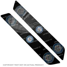 Saddlebag Reflector Decals For 14 Up  Harley - USN NAVY GHOST USA FLAG - 120