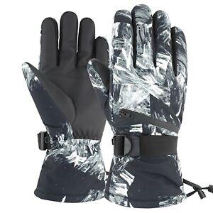 Ladies Men and Women Winter Gloves Ski Snowboard Snow Thermal Waterproof Unisex1