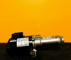 "Webtrol H5B5S 1/2 HP, 5 GPM, 5 Stage, 1"" Inlet, EZ Booster Pump. New + Manual!"
