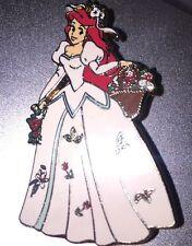 Disney Pin Ariel In The Garden White Wedding Dress Le 1000 Rare Princess