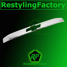 15-16 Chevy Tahoe Triple Chrome Nickel Upper Liftgate Tailgate Handle Cover 2016