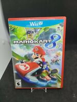 Nintendo Wii U Game Mario Kart 8 AUTHENTIC COMPLETE TESTED & WORKING