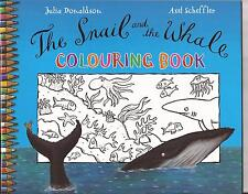 THE SNAIL and the WHALE Colouring Book by  JULIA DONALDSON Painting Drawing Dots