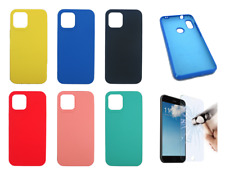 Funda Carcasa Rigida Silicona Ultra Suave Para Apple iPhone 12 Pro Max (5G) 6.7""