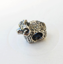 "Genuine Pandora  Charm ""Ram"" - 79335 or 790335 - retired"