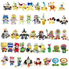 Super Mario Bros Bowser Koopalings Toad Piranha Kong Squirrel Plush Toy Optional