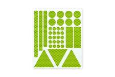 3M™ Stickerset 36teilig Aufkleber Sticker RA2 reflektierend fluor zitronengelb
