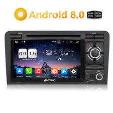 Android 8.0 Autoradio Per AUDI A3 2003-2011 DVD Player 2Din WiFi GPS Bluetooth