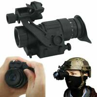 HD Infrared Night Vision IR Telescope Monocular LCD Display For Helmet Hunting