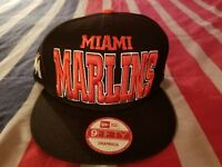 Miami Marlins New Era 9fifty Snapback Hat