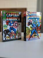Captain America Omnibus Vol 1 (NEW & SEALED) + Vol 2 (NEW without SHRINK)