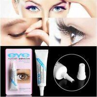 Brand New EYE False Eyelash Lash Glue Adhesive 7g, Dark or Clear, Waterproof UK.