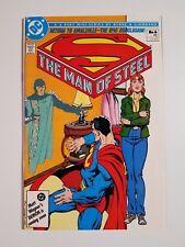 The Man of Steel #6 NM+ (DC,1986) Pt. 6 of 6 Mini-series w/Wonder Woman Insert!