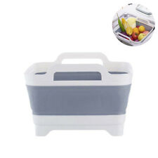 Portable Kitchen Picnic Folding Wash Basin Collapsible Vegetable Bucket Dish Tub