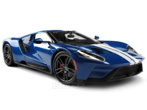 "2017 Ford GT ""Exclusive Edition"" 1:18 Scale - Maisto Diecast Model Car (Blue)"