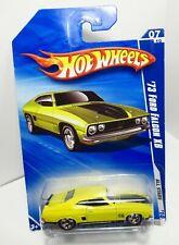 Hot Wheels HW 10 2010 All Stars Australian '73 1973 Ford Falcon XB Yellow