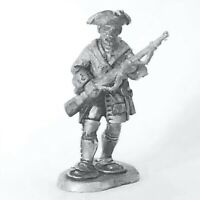 French Marine, Snowshoes, Tricorn Jacket Marching FIW 28mm Unpainted Wargame