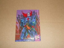 Mr Sinister X-Men Trading card 56 Super Villains from Marvel Comics
