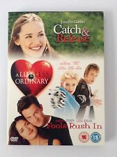 DVD 3 Pack - Catch & Release, A Life Less Ordinary & Fools Rush In