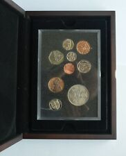 2015 Proof Set  9 Coin Collection 1 Penny to £2 Pounds with 1953 Crown