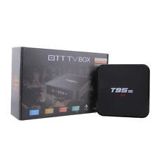 2GB DDR Smart TV Box 2G+8G 8GB emmc 2.4G+Bluetooth 4.0 WiFi S905X TV box BY US