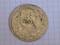 MEXIQUE 1 Peso José Morelos y Pavon 1958 Mexico