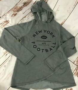 NFL New York Jets womens size Large-Hooded sweatshirt-NWT