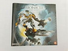 LEGO Bionicle Warriors #8697 Toa Ignika - INSTRUCTIONS ONLY