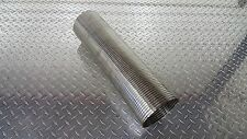 """OFFROAD ARSENAL 4/"""" DIAMETER STAINLESS STEEL EXHAUST BAND CLAMP LAP STYLE STACKS"""