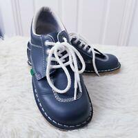 Kickers Kick Hi Womens Navy Blue UK 6 EUR 39 Boots Shoes