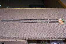 new easton axis 5mm 500 spine arrows with blazer vanes 1 doz