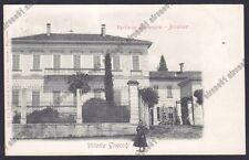 LECCO VERDERIO SUPERIORE 03 VILLA GNECCHI Cartolina viaggiata 1903