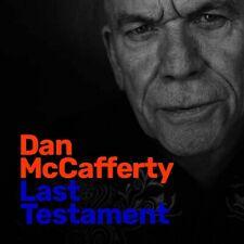 Dan Mccafferty Last Testament CD New 2019