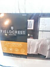 Fieldcrest Queen Down Comforter White Warm
