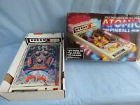 Vintage 1970 Tomy Atomic Pinball Electronic Fast And Furious Arcade Game Toy Box