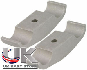 Rotax Max Engine Mount Clamp Bracket 32mm x 92mm Pack of 2 Go Kart