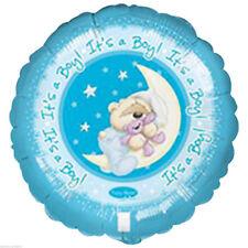 """ITS A BOY! Bambino FIZZY MOON Anagramma Foil Balloon 18"""" XL Xtra Life"""