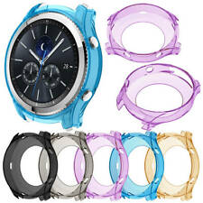 For Samsung Gear S3 Frontier & Classic Soft TPU Case Watch Frame Protector Cover