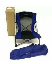 Uline Event Chair S-22050 for Outdoor Concerts Camping Sports 225 Lb. Blue NEW!
