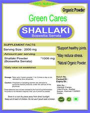 ORGANIC BOSWELLIA SERRATA (SHALLAKI) POWDER 100% PURE FROM INDIA