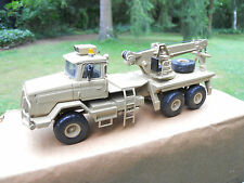 VEHICULE MILITAIRE  SMITH AUTO MODELS SCAMMEL S 24 RECOVERY TRUCK SABLE  MIB