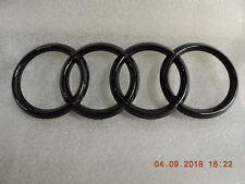 Original Audi A4 A6 A7 Q3 Q5 Q7  Emblem Ringe  Zeichen im Kühlergrill schwarz